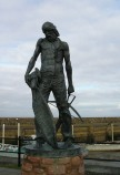 Ancient Mariner statue at Watchet Harbour
